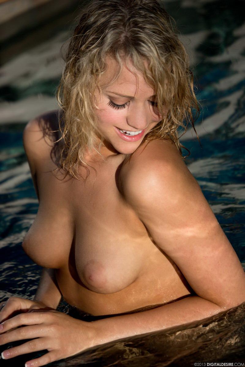 Mia malkova at the pool