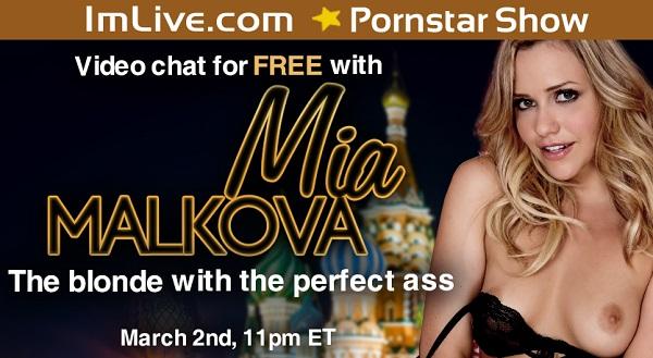 Mia Malkova live webcam show
